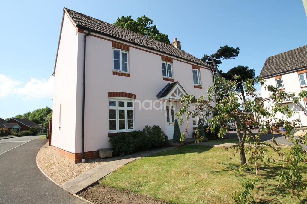 4 Bedrooms Detached House for sale in Gammon Close, Ramshill, Petersfield