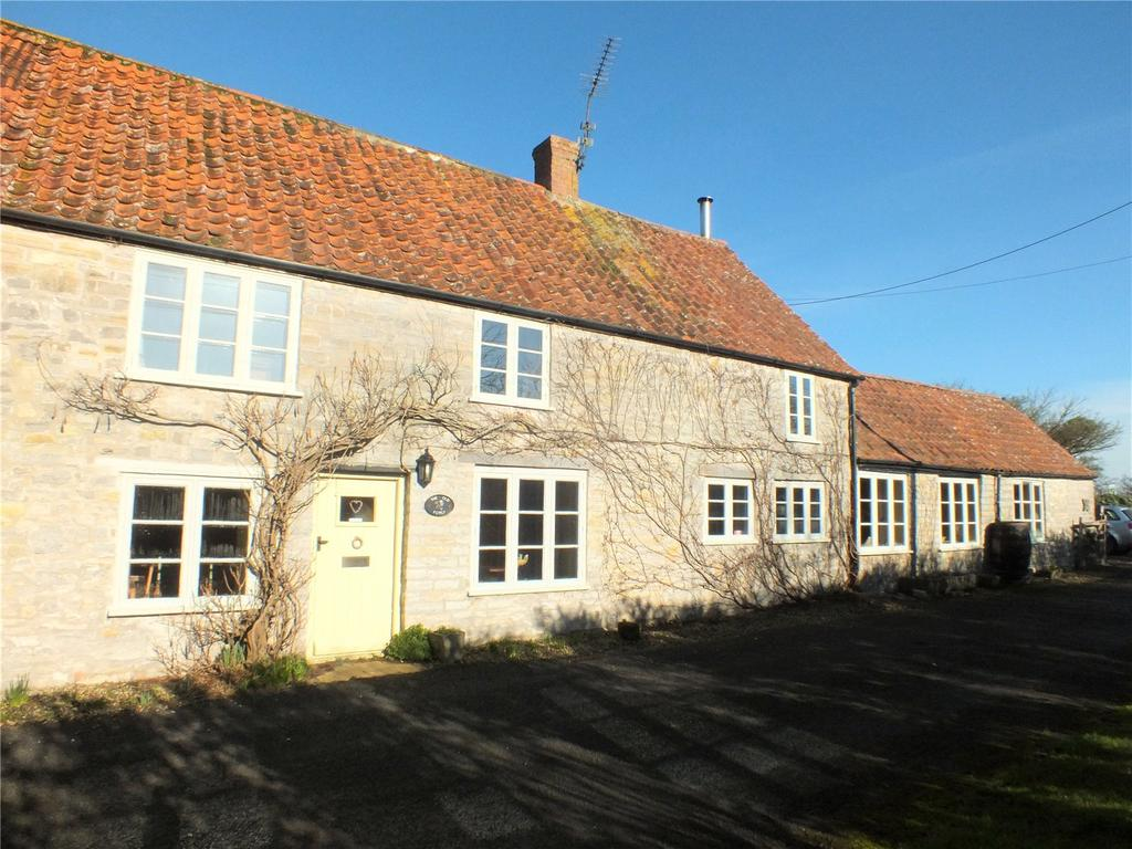 4 Bedrooms Semi Detached House for sale in Blacksmiths Lane, Shapwick, Bridgwater, Somerset, TA7