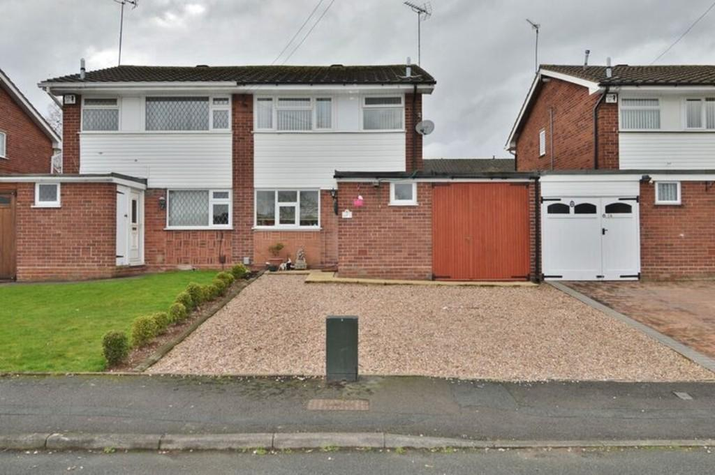 3 Bedrooms Semi Detached House for sale in Arden Close, Rugeley