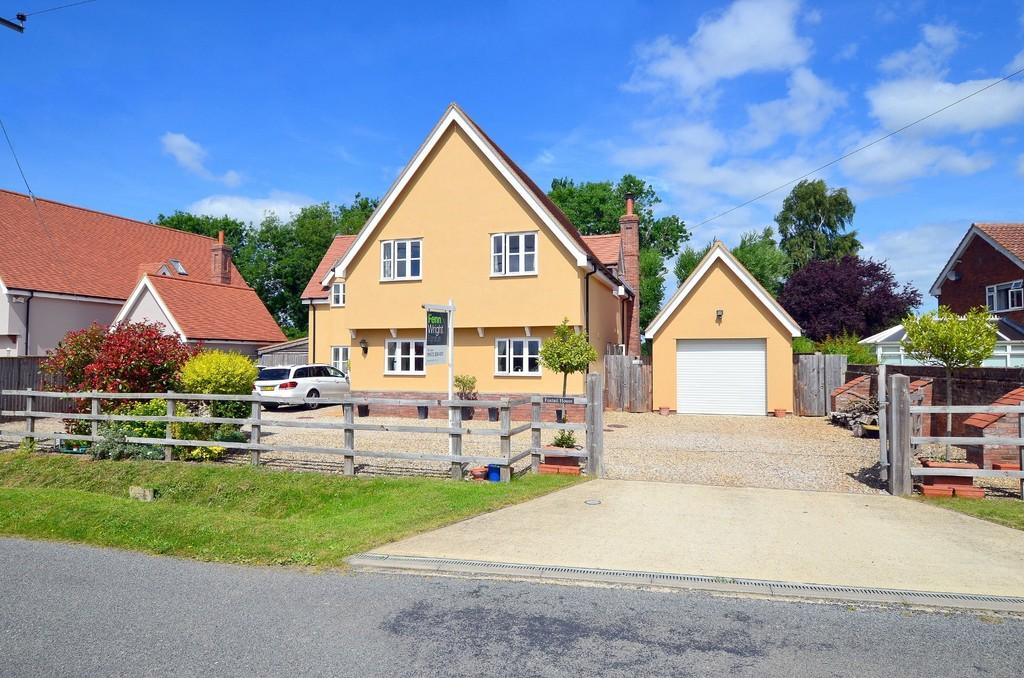 5 Bedrooms Detached House for sale in The Street, Chattisham