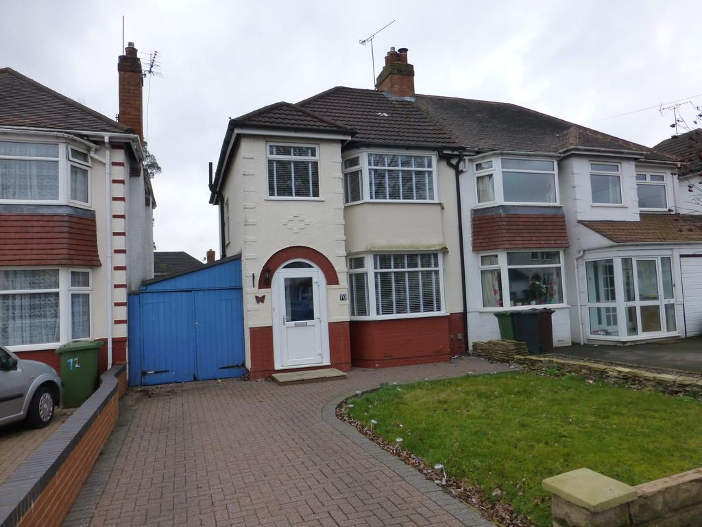 3 Bedrooms Semi Detached House for sale in Radbourne Road, Shirley