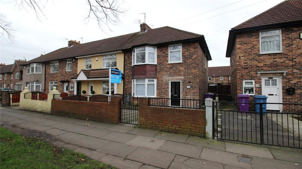 3 Bedrooms End Of Terrace House for sale in Utting Avenue East, Liverpool, Merseyside, L11