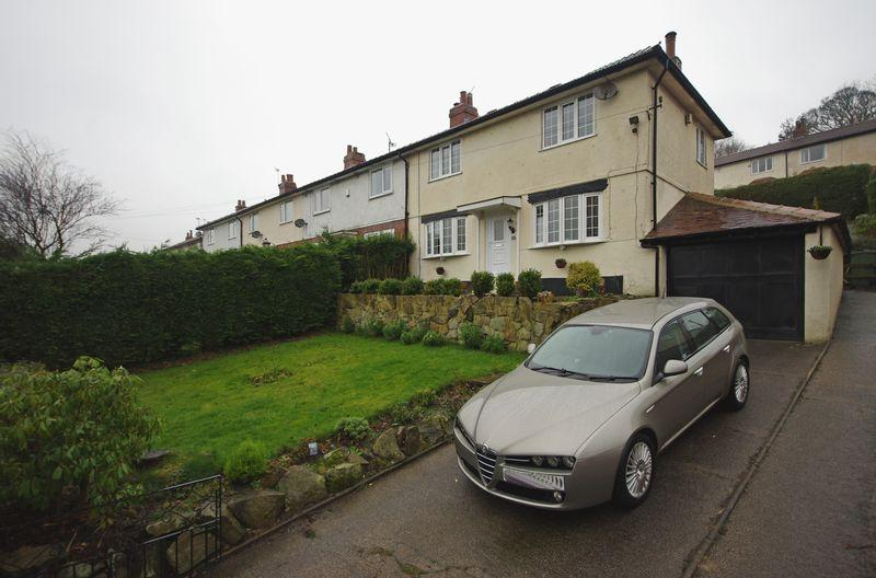 3 Bedrooms End Of Terrace House for sale in Warley Wood Avenue, Luddendenfoot, HX2 6BJ