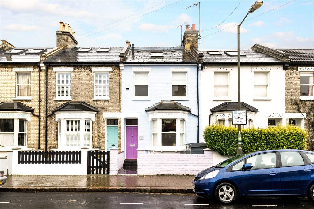 4 Bedrooms Terraced House for sale in Fullerton Road, Tonsleys, London, SW18