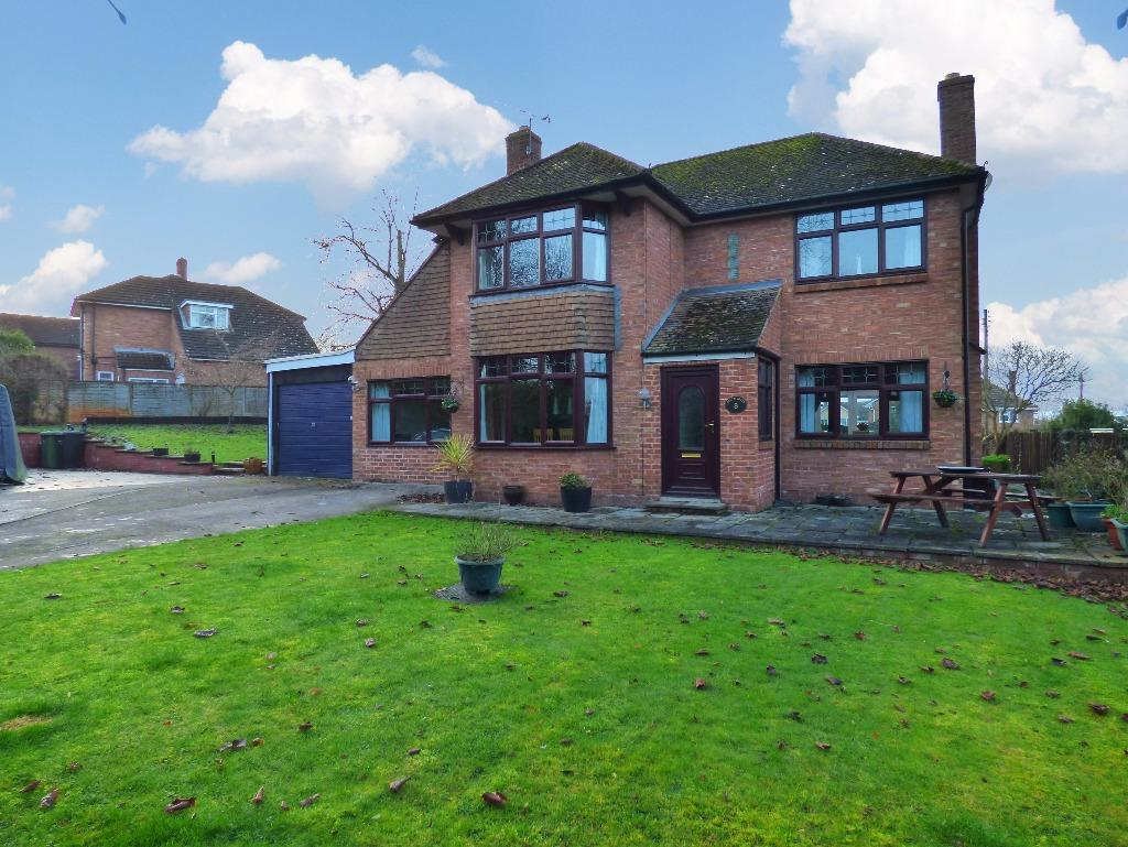 3 Bedrooms Detached House for sale in Fayre Oaks Drive, Kings Acre, Hereford