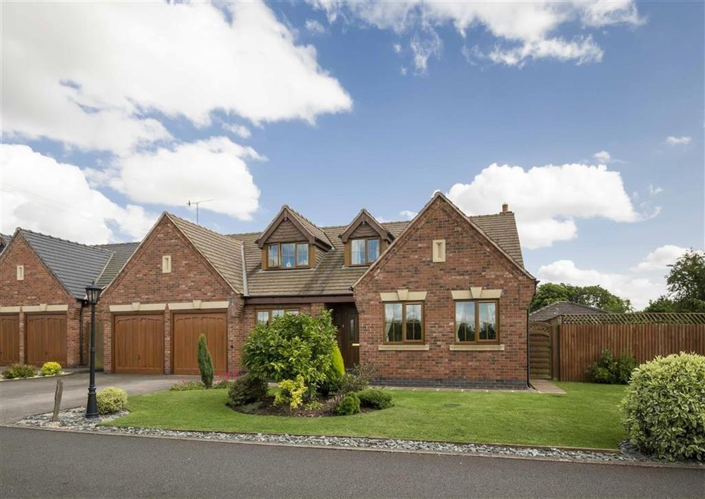 4 Bedrooms Detached House for sale in Yew Tree Court, Broomhall, Worcester