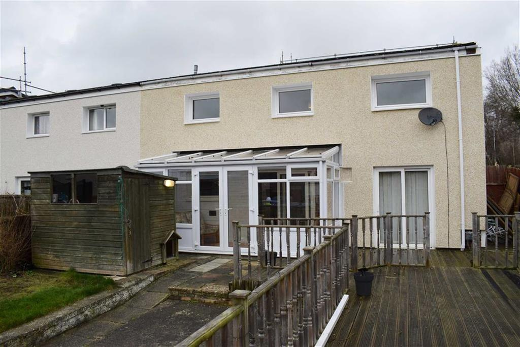 3 Bedrooms End Of Terrace House for sale in 118, Lon Gwern, Trehafren, Newtown, Powys, SY16