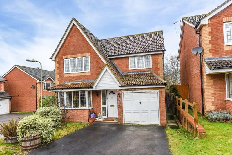 4 Bedrooms Detached House for sale in Georgia Close, Andover