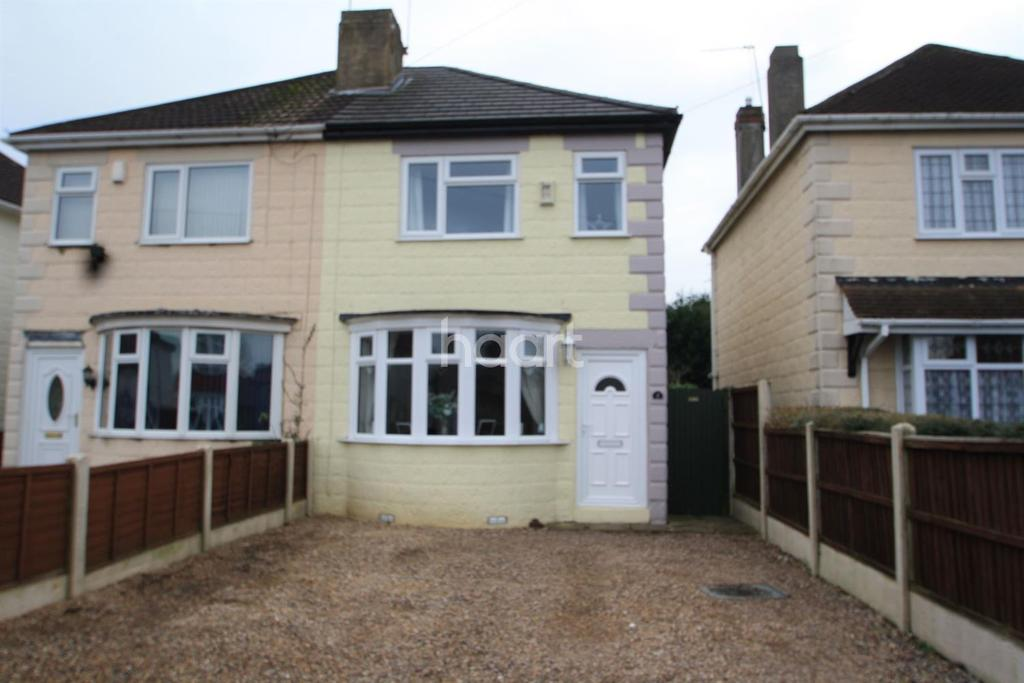 2 Bedrooms Semi Detached House for sale in Anthony Drive, Alvaston