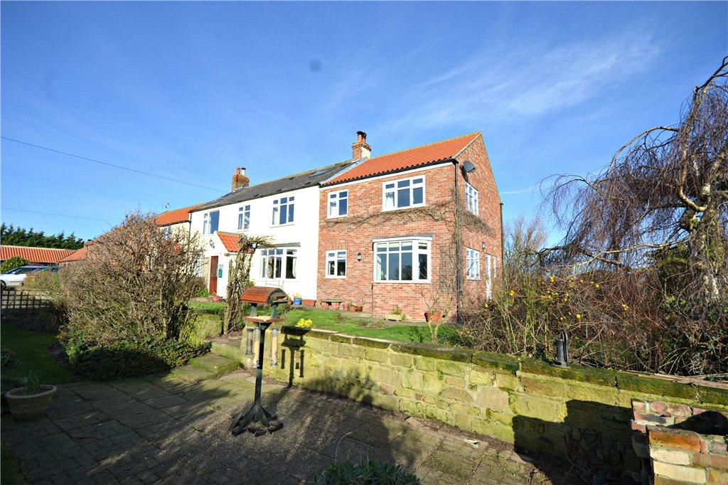 4 Bedrooms Semi Detached House for sale in Carlton Grange Farm, Sexhow Lane, Carlton-In-Cleveland, North Yorkshire