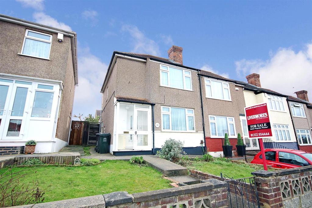 3 Bedrooms End Of Terrace House for sale in Swaisland Road, West Dartford