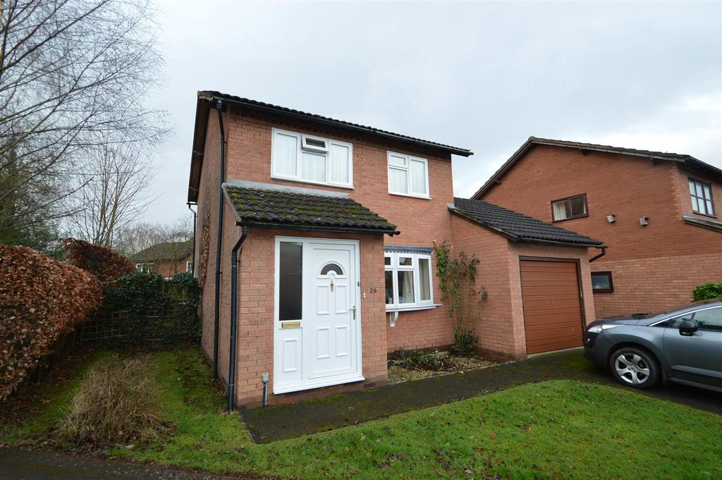 3 Bedrooms Detached House for sale in 24 Foxley Grove, Bicton Heath, Shrewsbury, SY3 5DF