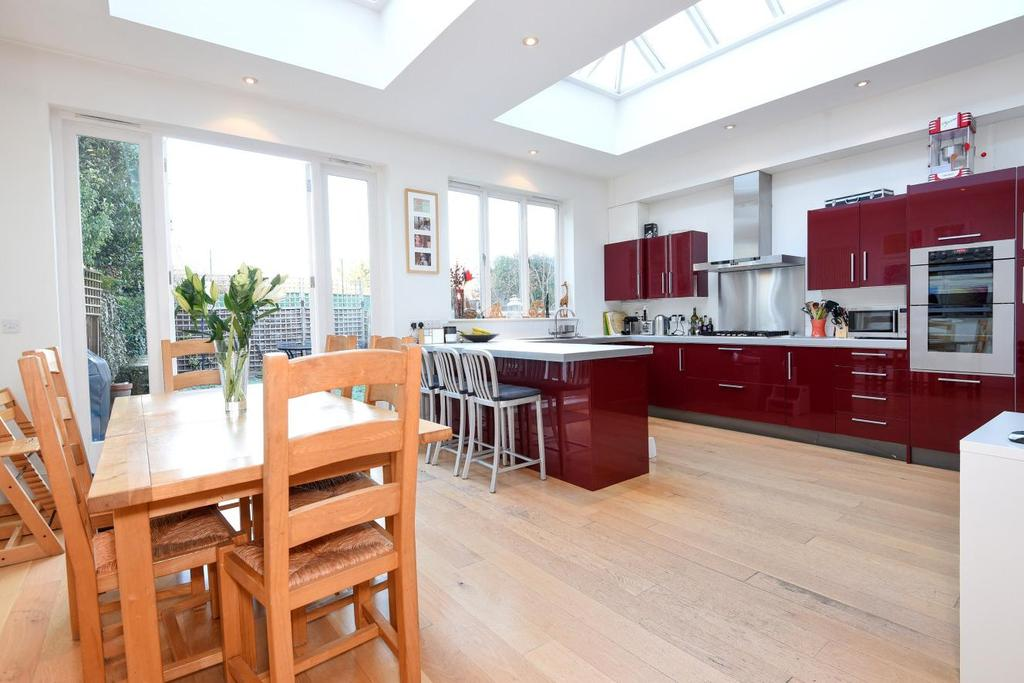5 Bedrooms Terraced House for sale in Southdean Gardens, Southfields, SW19