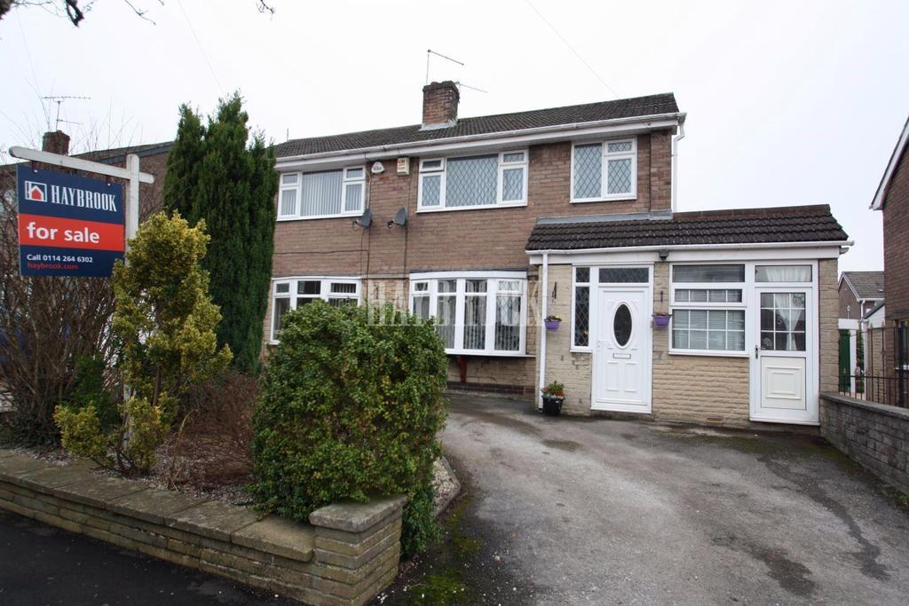 3 Bedrooms Semi Detached House for sale in Crispin Gardens, Gleadless, S12