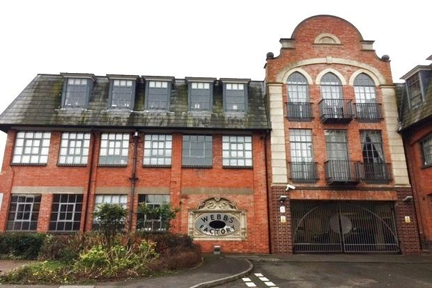 2 Bedrooms Apartment Flat for sale in Webbs Factory, Brockton Street, Northampton, NN2