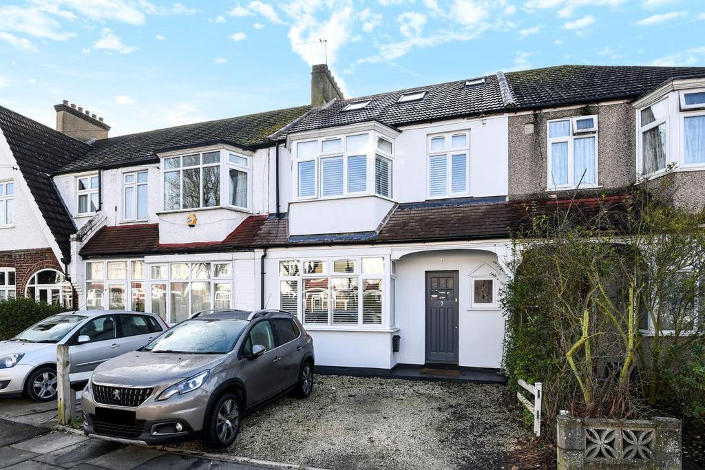 3 Bedrooms Terraced House for sale in Firstway, Raynes Park, SW20