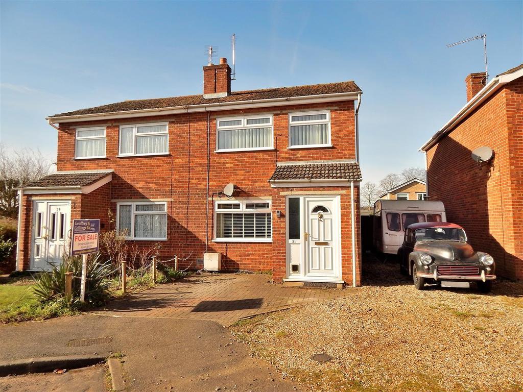 3 Bedrooms Semi Detached House for sale in Shelduck Drive, Snettisham, King's Lynn