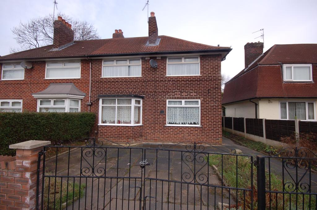 3 Bedrooms Semi Detached House for sale in Hollyhedge Road, Benchill, Manchester M22