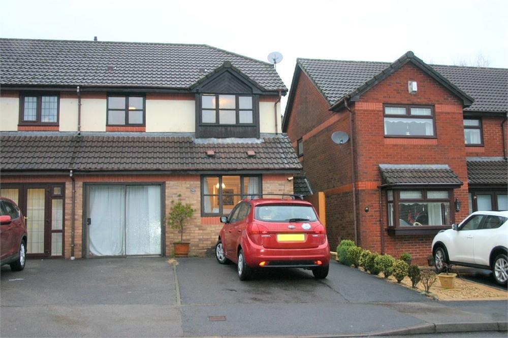 3 Bedrooms Semi Detached House for sale in Ynys Hir, Coed Y Cwm,, Coed-Y-Cwm, Pontypridd, Mid Glamorgan