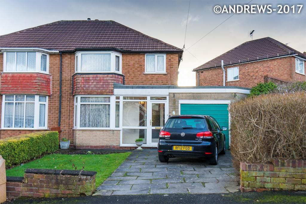3 Bedrooms Semi Detached House for sale in Garnet Avenue, Great Barr, BIRMINGHAM