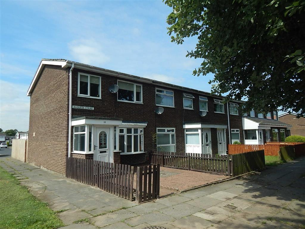3 Bedrooms Terraced House for sale in Augusta Court, Hadrian Park, Wallsend, NE28