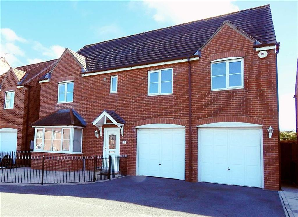 4 Bedrooms Detached House for sale in Brookfield, Holyfields, Newcastle Upon Tyne, NE27