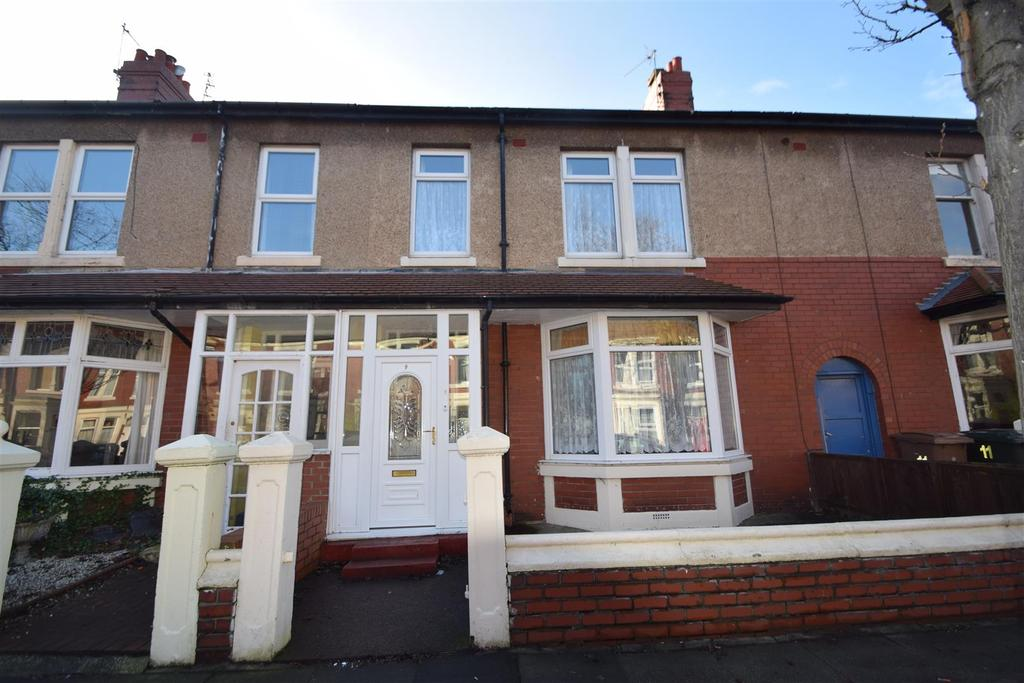 4 Bedrooms Terraced House for sale in Ventnor Gardens, Whitley Bay