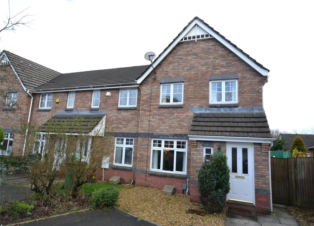 3 Bedrooms End Of Terrace House for sale in Wicklow Close, Pontprennau, Cardiff, CF23