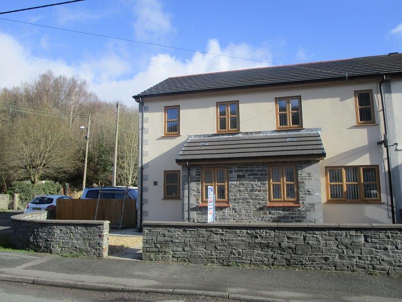 4 Bedrooms Semi Detached House for sale in 1 Llys Twrch, Heol Twrch , Lower Cwmtwrch, Swansea.