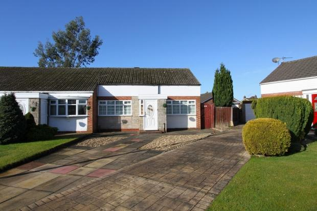 2 Bedrooms Terraced Bungalow for sale in Fairview Close Ashton In Makerfield Wigan
