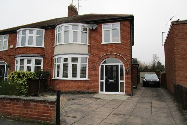3 Bedrooms Semi Detached House for sale in Queens Drive, Leicester Forest East, Leicester, LE3
