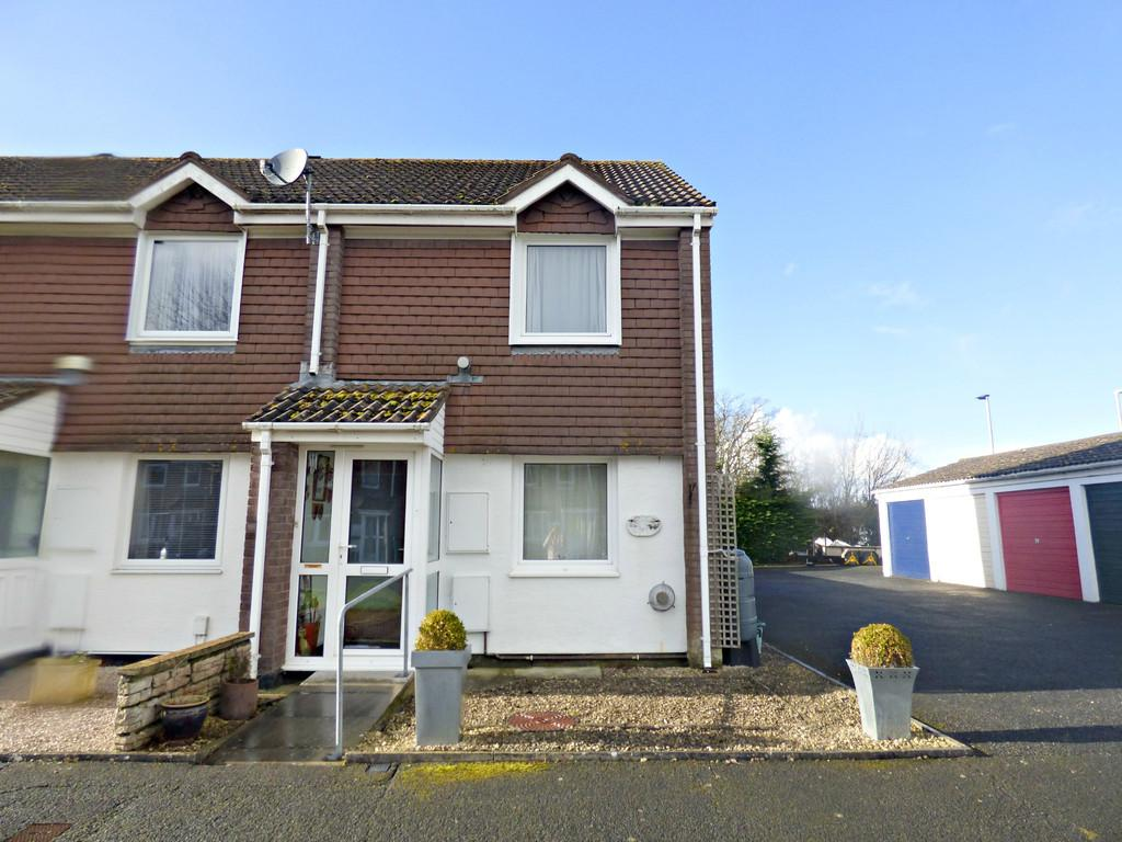 2 Bedrooms End Of Terrace House for sale in Newcross Park, Kingsteignton, TQ12 3TH
