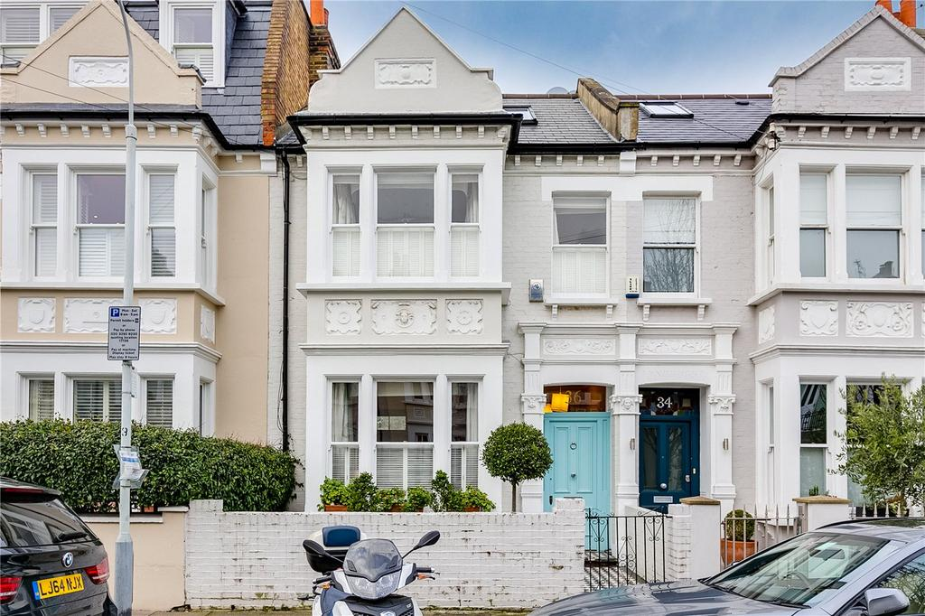 5 Bedrooms Terraced House for sale in Fernhurst Road, Fulham, London