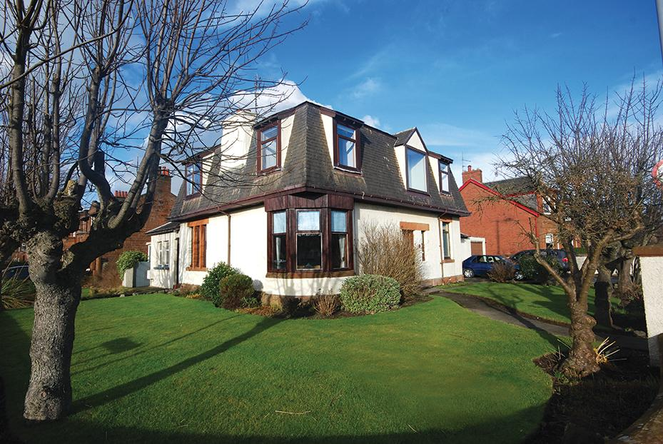 4 Bedrooms Villa House for sale in 35 St Meddans Street, Troon, KA10 6NL