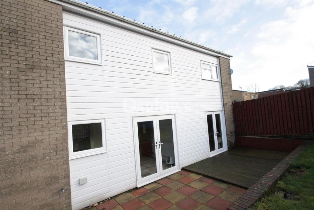 3 Bedrooms End Of Terrace House for sale in Tolpath, Coed Eva