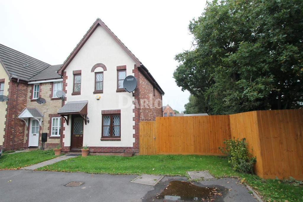 3 Bedrooms End Of Terrace House for sale in Locke Grove, St Mellons, Cardiff