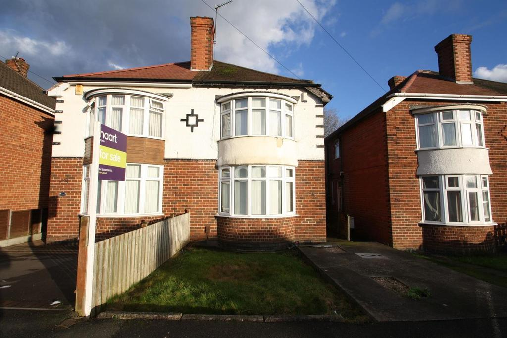2 Bedrooms Semi Detached House for sale in Curzon Road, Chaddesden