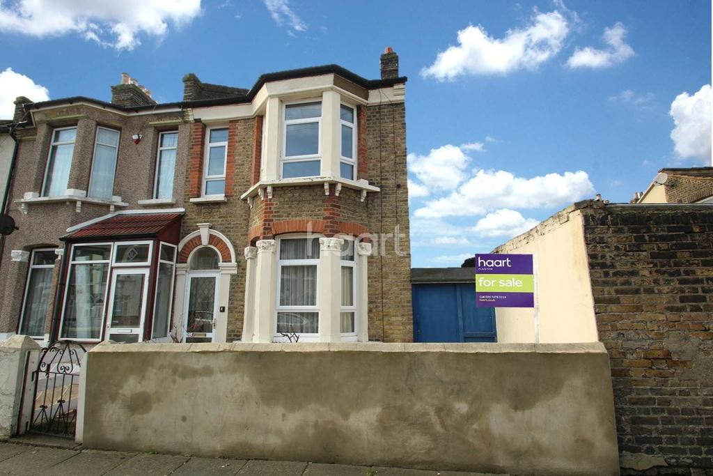 3 Bedrooms End Of Terrace House for sale in Selsdon Road, Upton Park