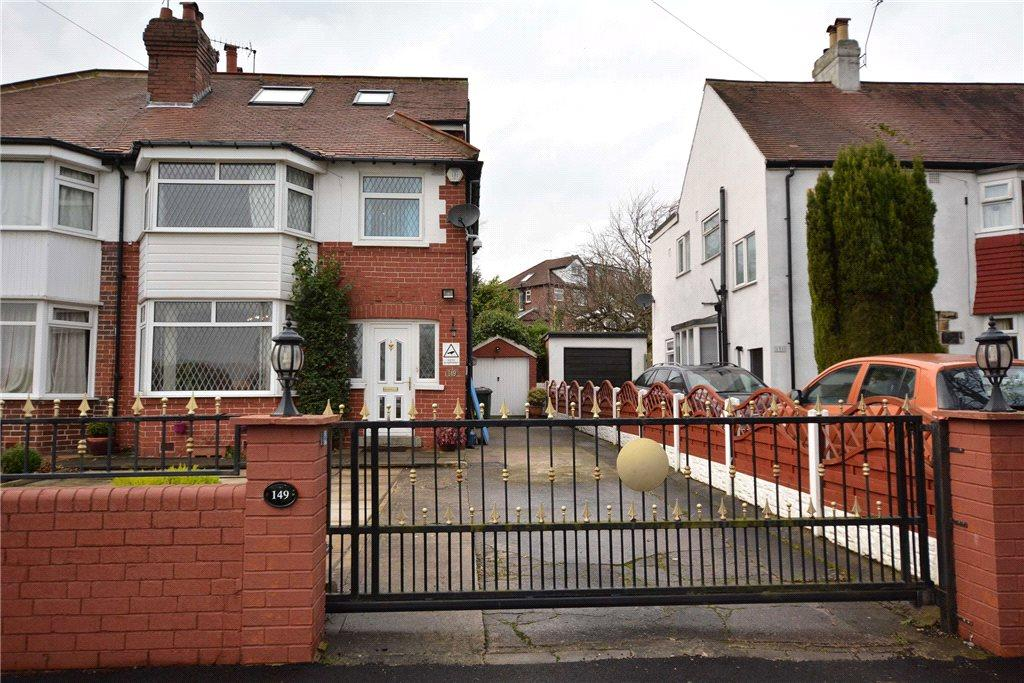 5 Bedrooms Semi Detached House for sale in Stonegate Road, Leeds, West Yorkshire