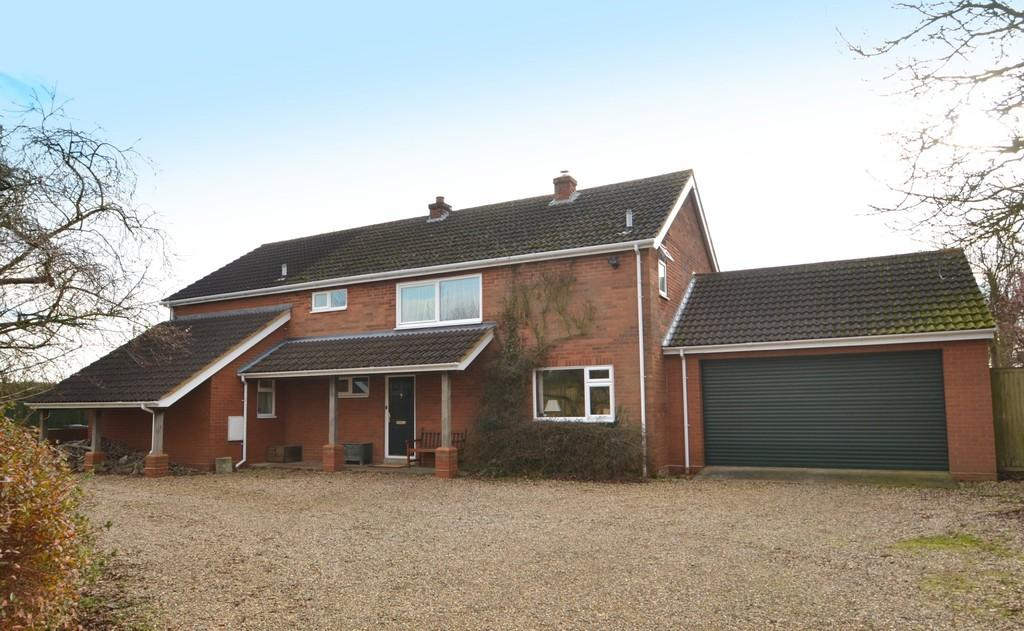 4 Bedrooms Detached House for sale in Main Road, Woolverstone, Ipswich, Suffolk