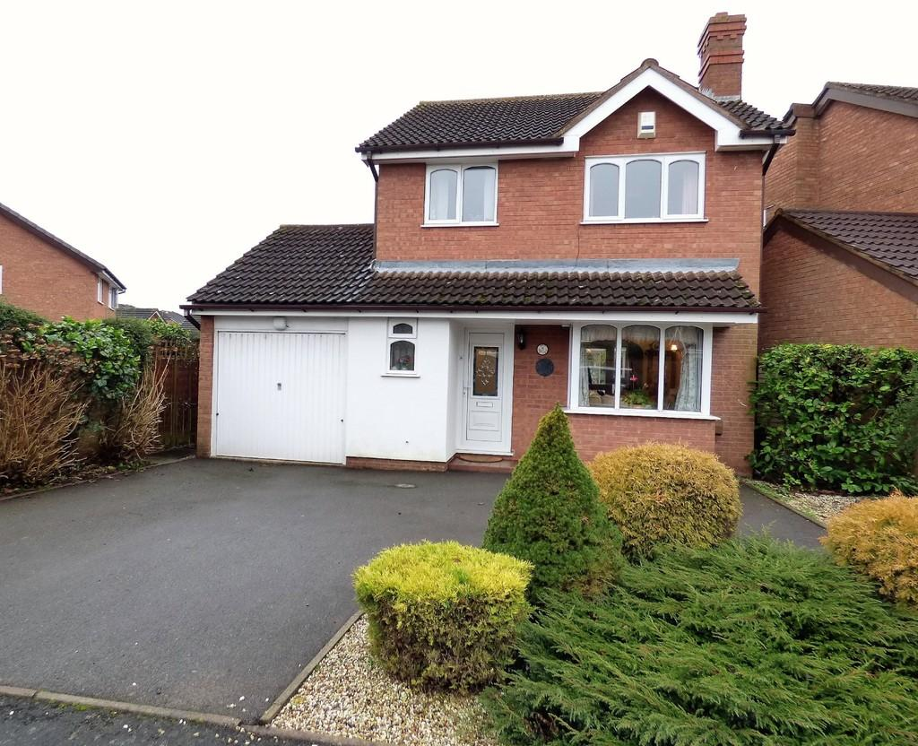 3 Bedrooms Detached House for sale in Ascot Close, Lichfield