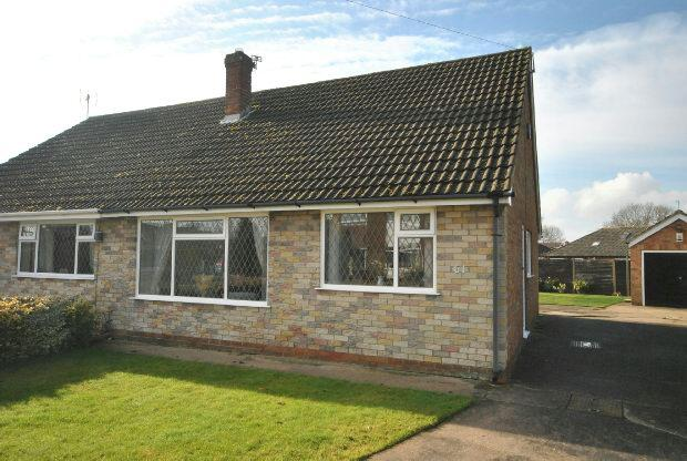 2 Bedrooms Semi Detached Bungalow for sale in The Oval, GRIMSBY