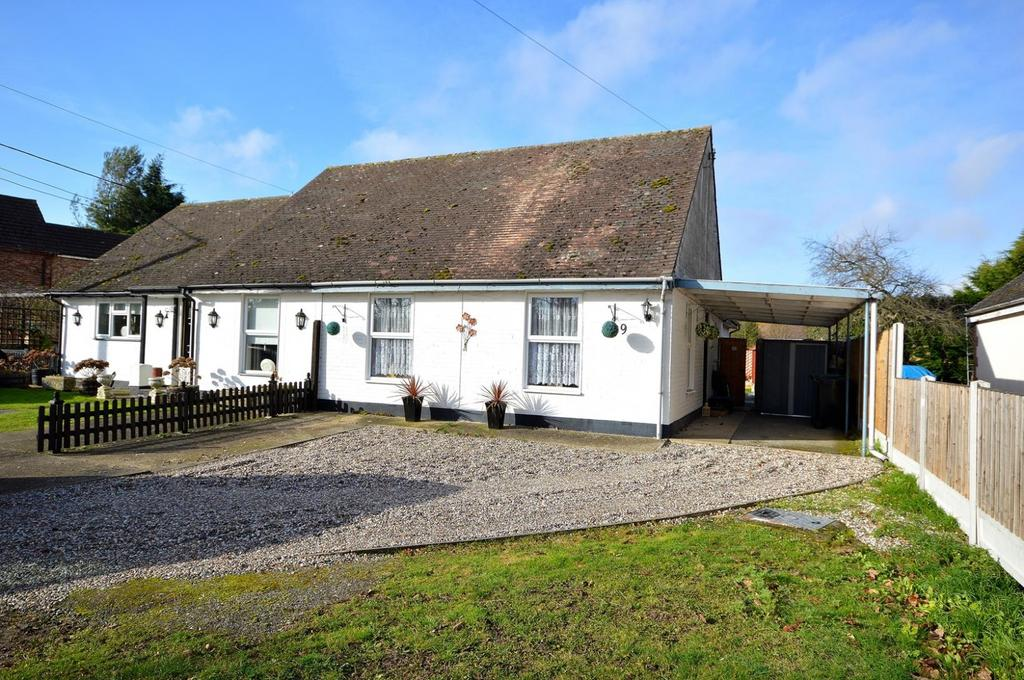 2 Bedrooms Semi Detached Bungalow for sale in Church Street, Tolleshunt D'Arcy, Maldon, Essex, CM9