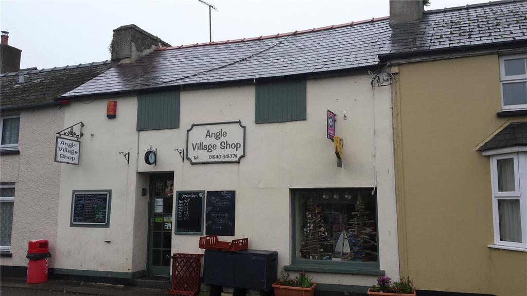 2 Bedrooms Terraced House for sale in Angle Village Shop, Angle Village, Angle, Pembroke