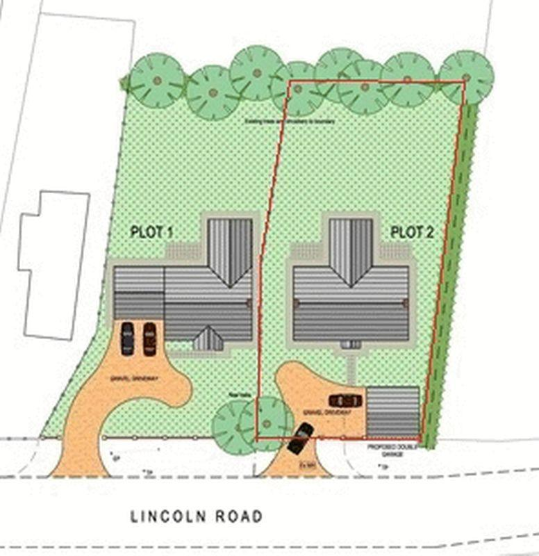 Land Commercial for sale in Building Plot Lincoln Road, East Barkwith
