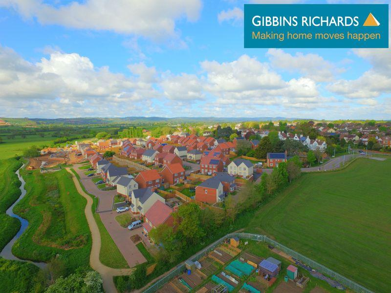 4 Bedrooms Detached House for sale in Haygrove Park, Durleigh, Bridgwater