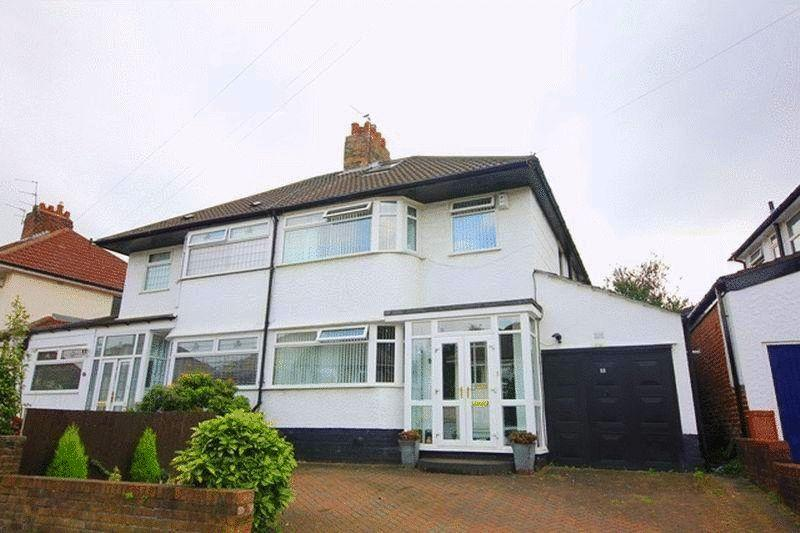 3 Bedrooms Semi Detached House for sale in North Barcombe Road, Childwall