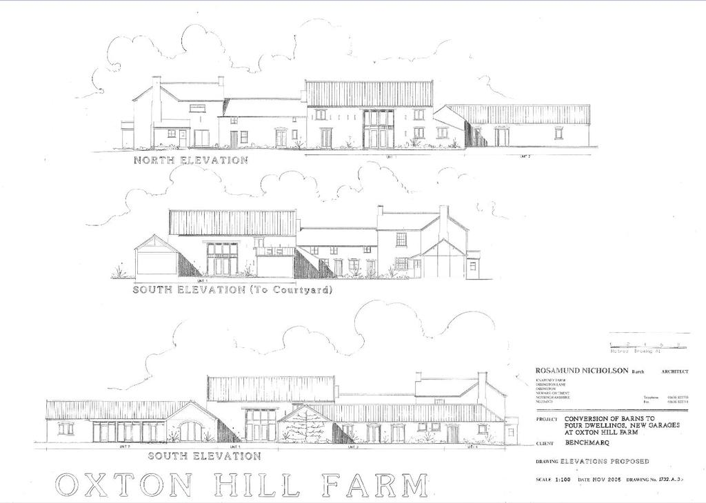 4 Bedrooms Unique Property for sale in Dairy Barn, Oxton Hill, Southwell, Nottinghamshire, NG25