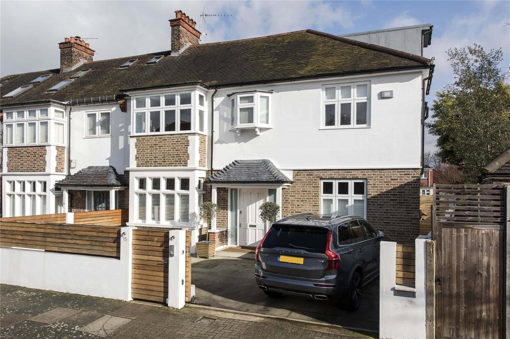 5 Bedrooms Semi Detached House for sale in Leacroft Avenue, London, SW12