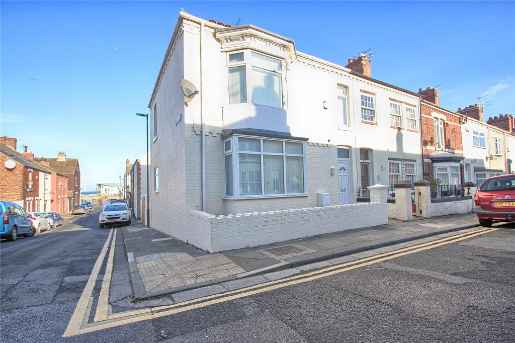 4 Bedrooms End Of Terrace House for sale in High Street West, Redcar
